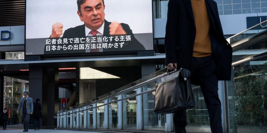 Japan issues arrest warrants for Carlos Ghosn—and the ex-Green Beret accused of helping him escape