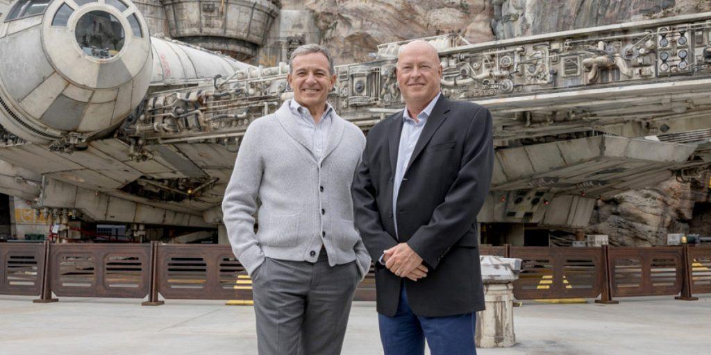 Disney's new CEO Bob Chapek has big shoes to fill