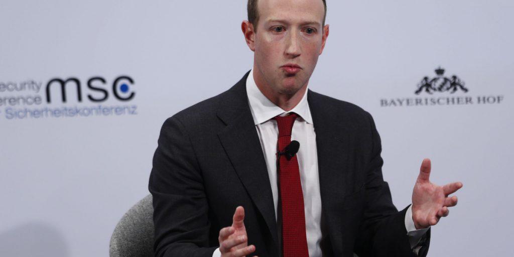 Facebook CEO Zuckerberg asks EU to set political ad, data rules