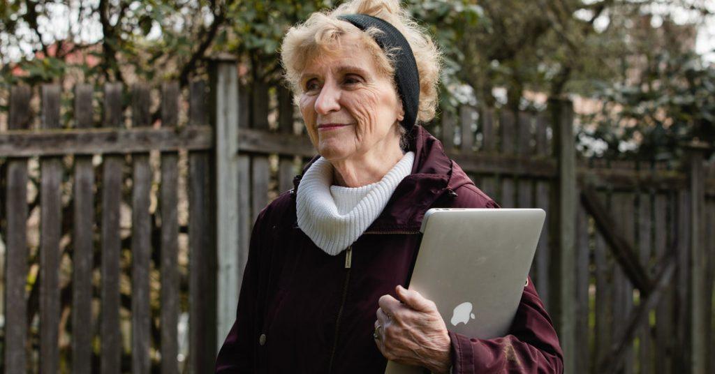 As Life Moves Online, an Older Generation Faces a Digital Divide