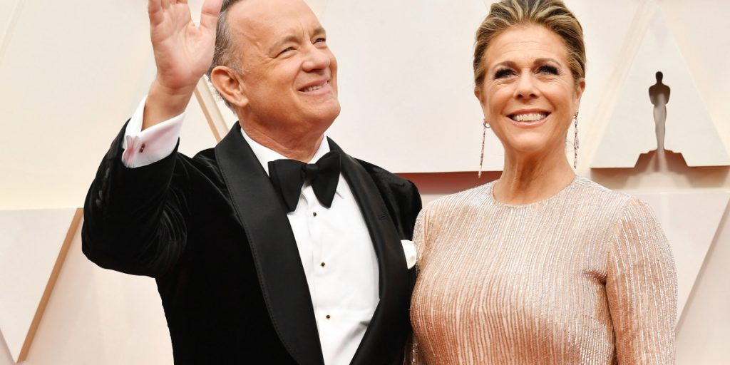 Tom Hanks and Rita Wilson are here to save us all