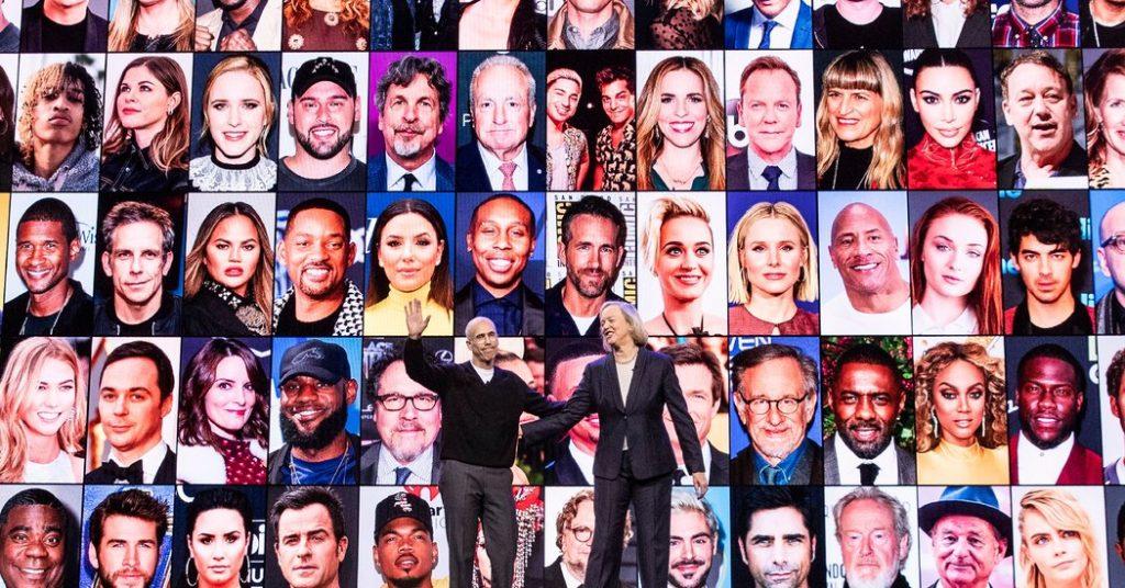 Jeffrey Katzenberg and Meg Whitman Gamble $1.8 Billion on Quibi