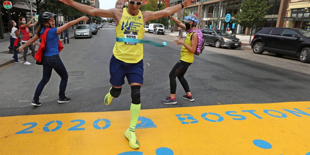 'Virtual marathons' see a spike as runners crave a fix and organizers fight to keep them engaged