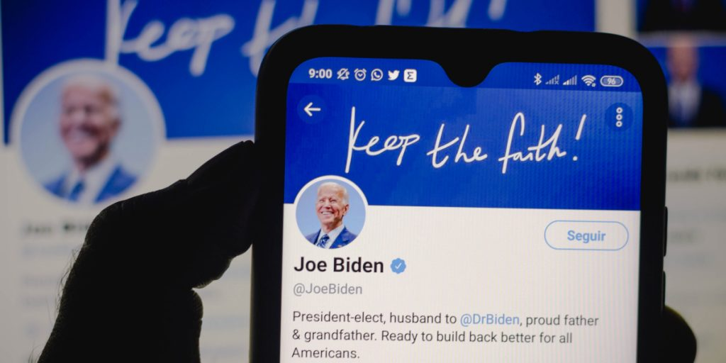 Twitter's transfer in executive tweet power to President Joe Biden signals next chapter in politics on social media